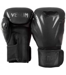Rękawice bokserskie Venum model Impact czarno czarne