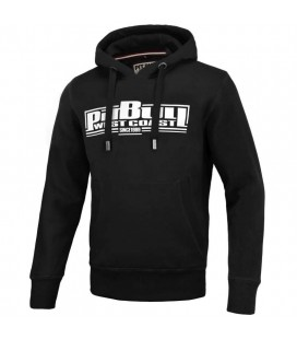 Bluza z kapturem Pit Bull model Classic Boxing 19 czarna
