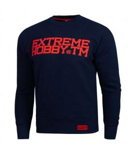 Bluza Extreme Hobby model BLOCK 2019 granatowa