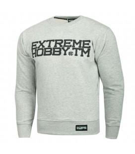 Bluza Extreme Hobby model BLOCK 19 szara