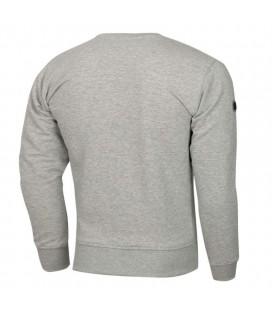 Bluza Extreme Hobby model Hush Line szary melanż
