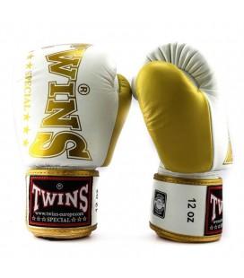 Rękawice bokserskie TWINS Special model BGVL 8 White