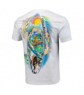 Koszulka Pit Bull model Camino biała
