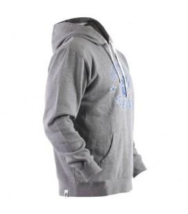 Bluza Clinch Gear kangurek z kapturem kolor szary melanż