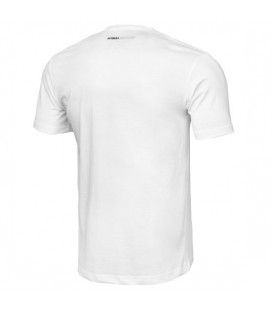 Koszulka Pit Bull model Small Logo 2020 biała