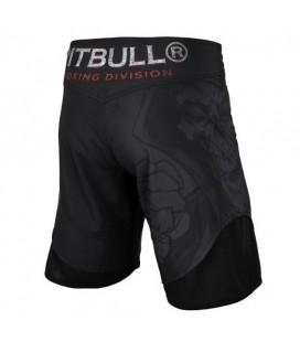 Spodenki Pit Bull grapplingowe Skull Boxer