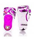 Rękawice bokserskie X-Punch firmy Mr Dragon Pink