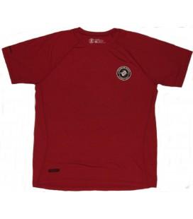 Koszulka treningowa Clinch Gear model Spiral kolor czerwony