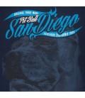 Koszulka Pit Bull model San Diego Dog III granatowa