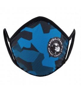 Maska Pit Bull West Coast model Fight Virus Dillard Blue