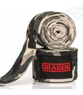 Bandaże owijki bokserskie elastyczne dragon 5m moro