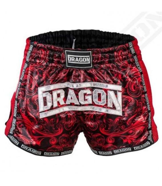 Spodenki Dragon model Muay Thai kolor bordowe