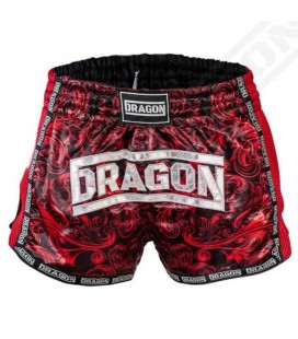 Spodenki Dragon model Muay Thai kolor bordowe