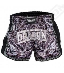 Spodenki Muay Thai marki Dragon czarne