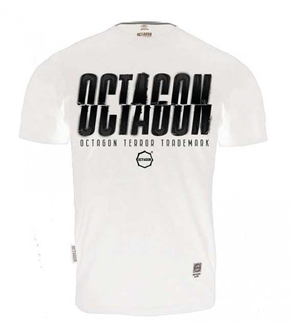 Koszulka Octagon model (T)Error kolor biały