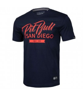 Koszulka Pit Bull West Coast model  El Jefe granatowa