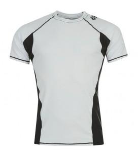 Rashguard Clinch Gear model Flex krótki rękaw kolor biały