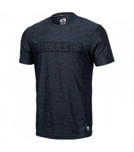 Koszulka Pit Bull Casual Sport HILLTOP granatowa