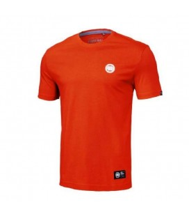 Koszulka Pit Bul model Small Logo 2020  red orange