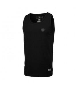 Koszulka Pit Bull bez rękawów Tank Top Slim Fit Small Logo czarna