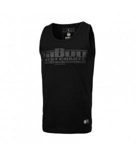 Koszulka Pit Bull bez rękawów Tank Top Slim Fit Boxing czarna
