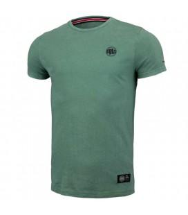 Koszulka Pit Bull Denim Washed Small Logo Green