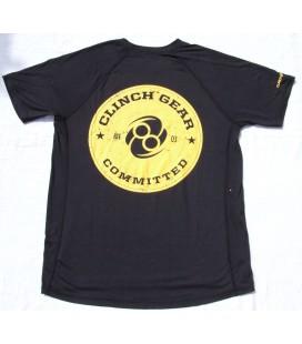 Koszulka treningowa Clinch Gear model Spiral kolor czarny