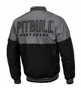 Kurtka Pit Bull model Caseman szaro czarna