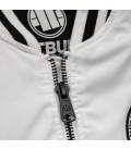 Kurtka Pit Bull model Caseman biało czarna