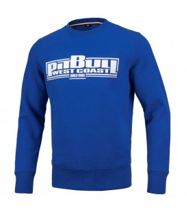 Bluza Pit Bull model Classic Boxing  royal blue