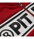 Bluza rozpinana Pit Bull model Oldschool Chest Logo czerwona