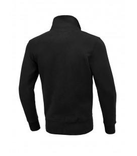 Bluza Pit Bull z kołnierzem rozpinana Small Logo 2020 czarna