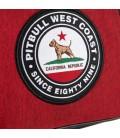 Torba na ramię Pit Bull model Circal Dog czerwona