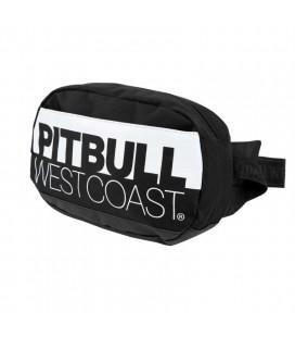 Saszetka nerka Pit Bull model TNT czarno biała
