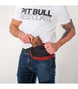 Saszetka Pit Bull model New Logo czerwono czarna