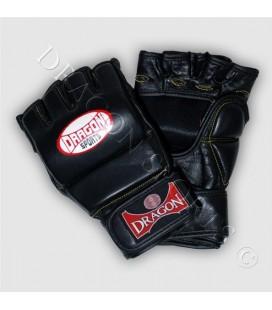 Rękawice Dragon chwytne MMA kolor czarny