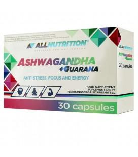 Allnutrition Ashwagandha + Guarana 30kaps