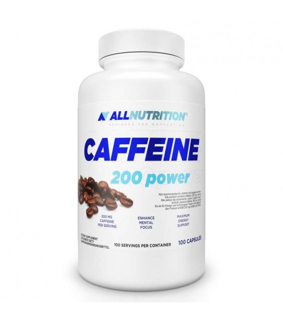 Allnutrition Caffeine 200 Power - 100kaps