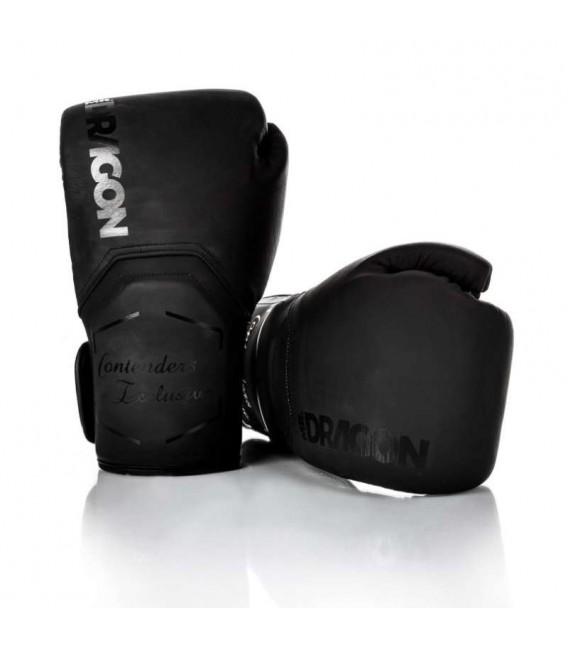 Rękawice bokserskie Mr Dragon model Contender black/black