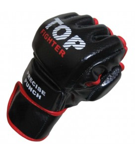 Rękawice do MMA Top Fighter model DX Carbon black
