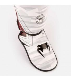 Nagolenniki - ochraniacze nóg Venum model Contender 2.0 white/camo