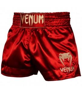 Spodenki Venum Muay Thai model Classic bordowe