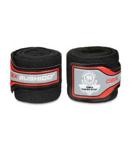 Bandaże owijki bokserskie elastyczne DBX Bushido 4m