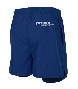 Spodenki sportowe Pit Bull Performance Pro plus 2in1 Navy blue