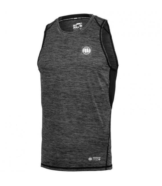 Koszulka Pit Bull Tank top rashguard Performance Pro Plus Small Logo szara