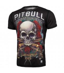 Rashguard Mesh Pit Bull Performance Pro Plus model Santa Muerte