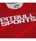 Rashguard Mesh Pit Bull Performance Pro Plus model Net kolor czerwony.