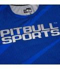 Rashguard Mesh Pit Bull Performance Pro Plus model Net kolor niebieski