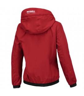 Kurtka damska Pit Bull model Dahlia kolor czerwony
