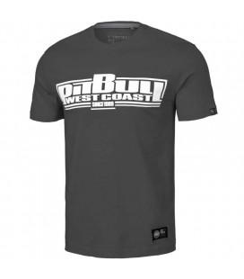 Koszulka Pit Bull model Classic Boxing 21 grafitowa